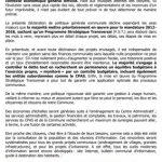 Notre déclaration de politique générale communale - MR Rebecq