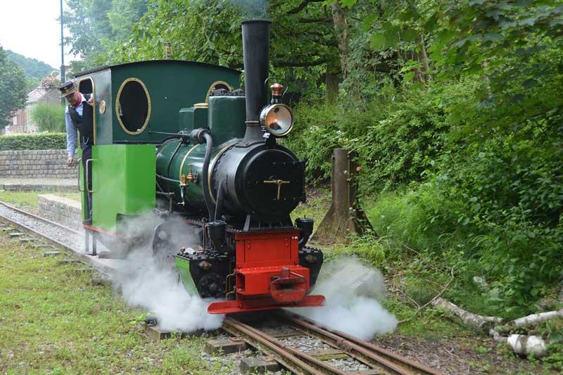 Le Rail Rebecq Rognon, Petit Train du Bonheur - Section MR de Rebecq