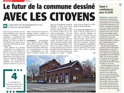 Article de la DH - 15-04-2016 - MR de Rebecq