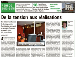 Article de Vers l'Avenir - 15-12-2015 - MR de Rebecq